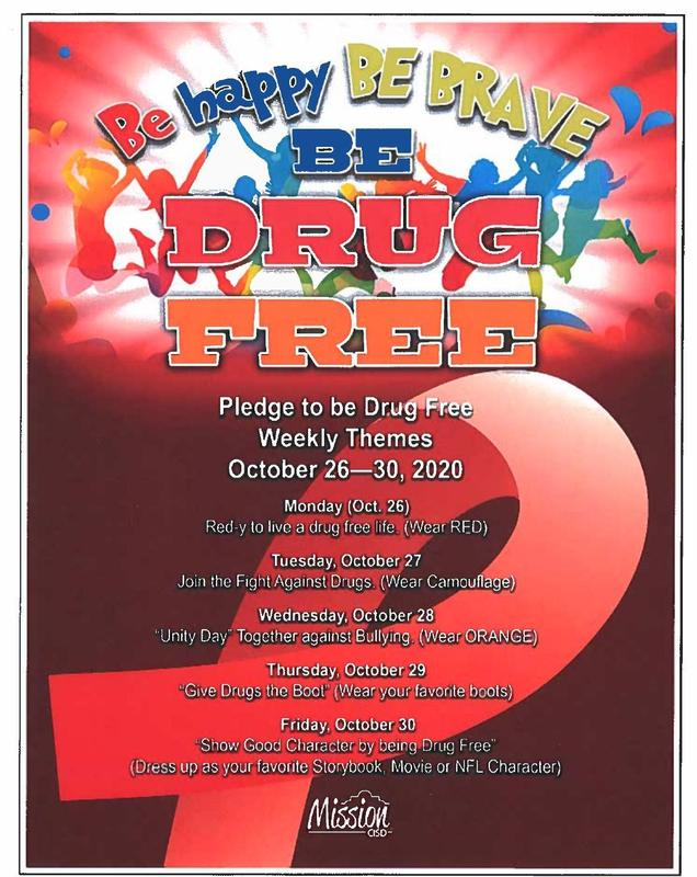 Red Ribbon Week Activities 2020