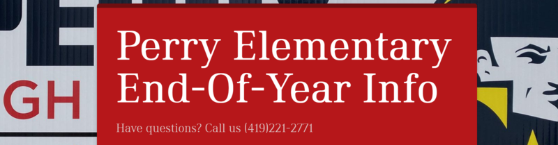 Elementary- Important End of Year Information Thumbnail Image
