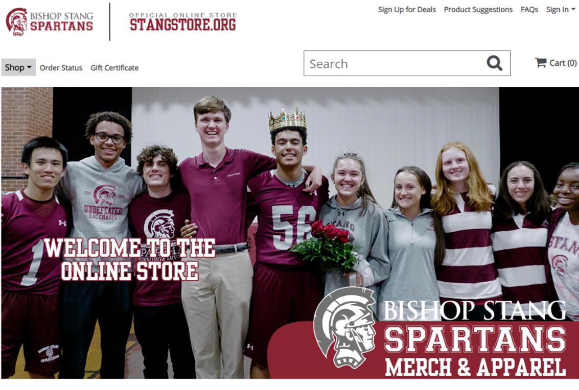 StangStore.org screenshot