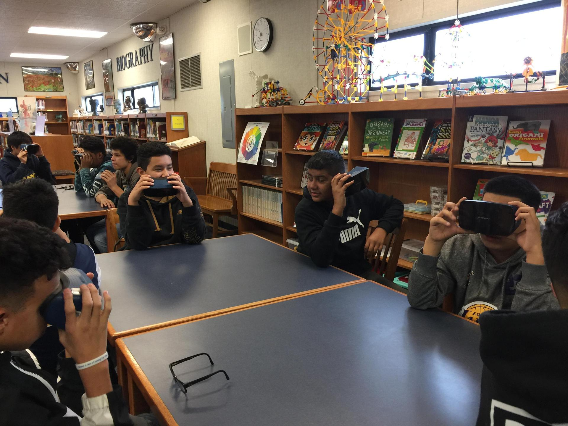 Google Goggles - Mr. Kopper's Science Class in the Library
