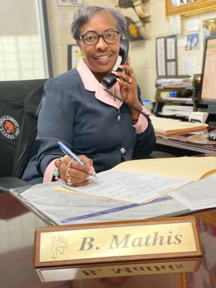 Mrs. Betty Mathis - Bookkeeper/Registrar