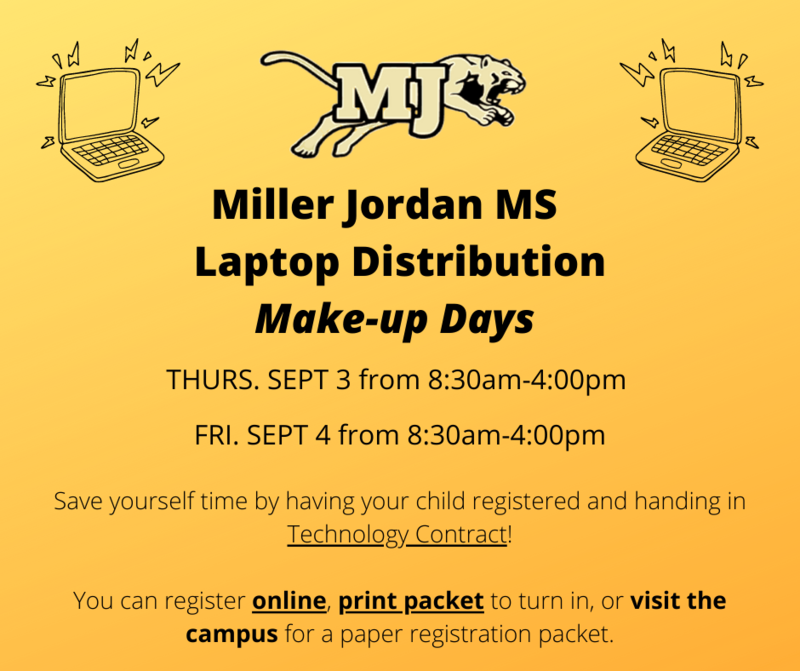 Laptop distribution