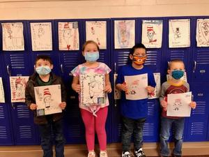 Dr. Seuss contest winners