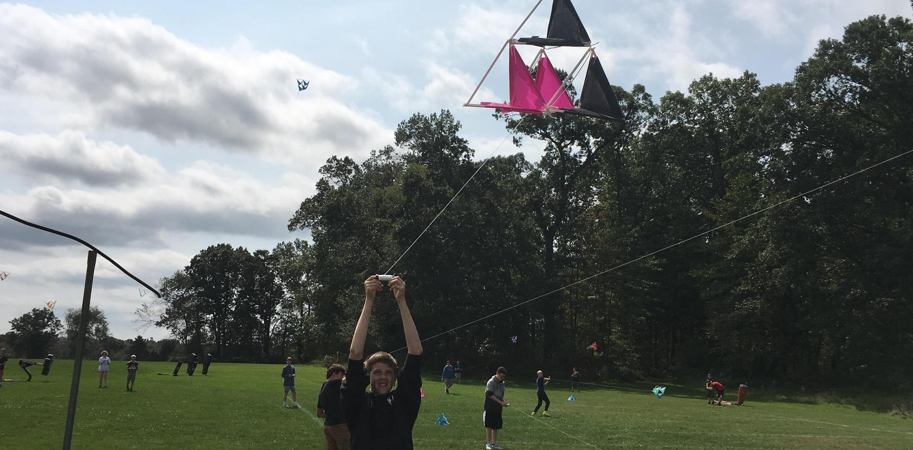 kite test flight