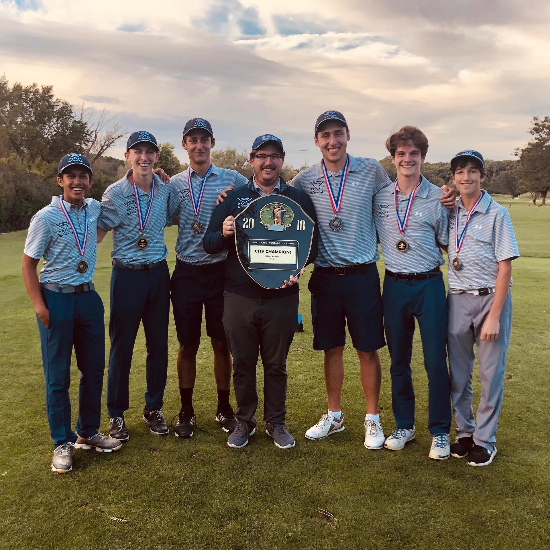 Image Boys Golf with Trophy 2
