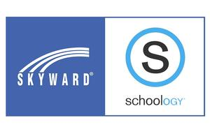 Skyward and Schoology Logos