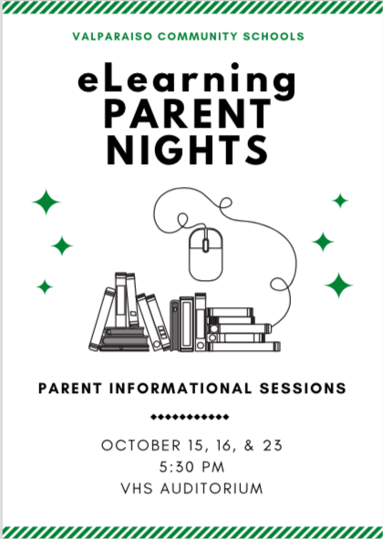 eLearning Parent Night Flyer