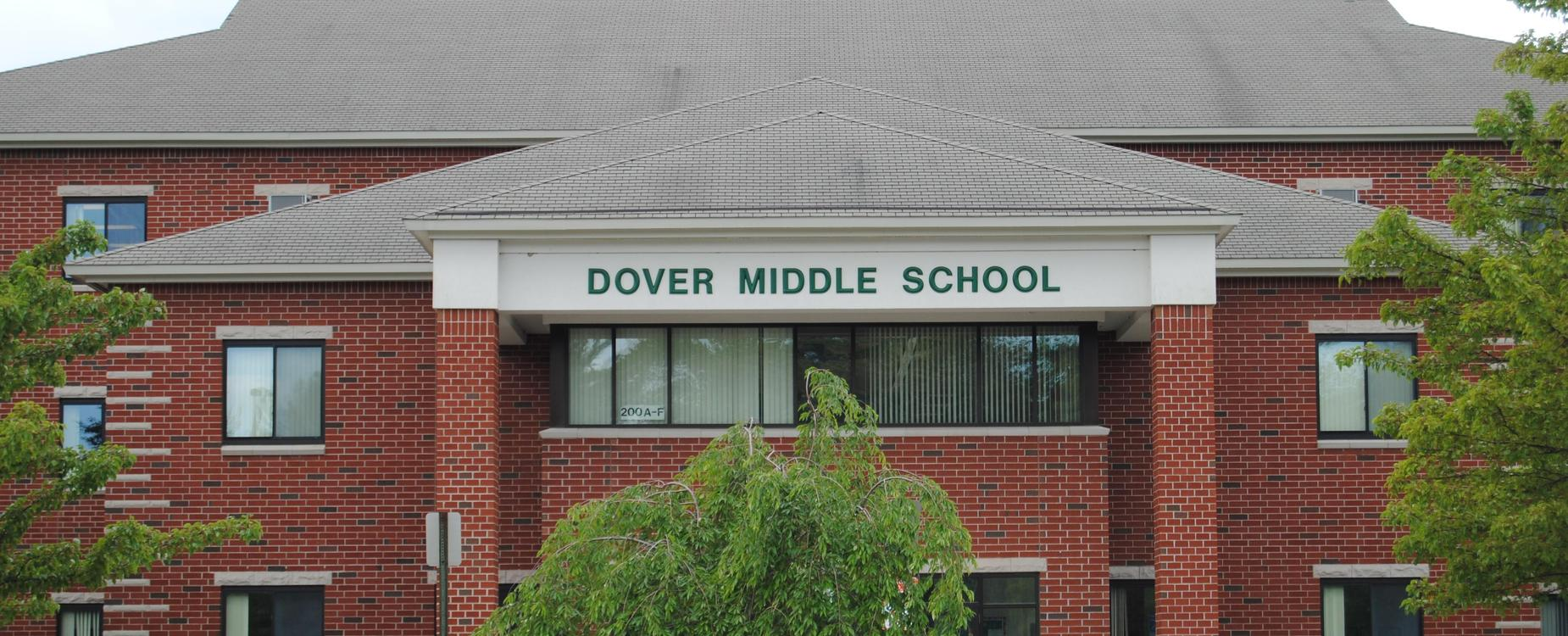 Dover Middle School Building Front