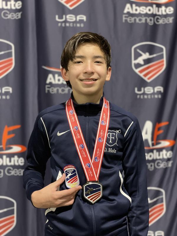 Brookfield 8th Grader is National Fencing Champion Thumbnail Image
