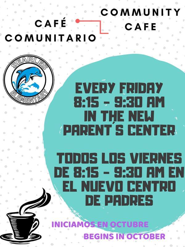 Community Cafe // Cafe Comunitario