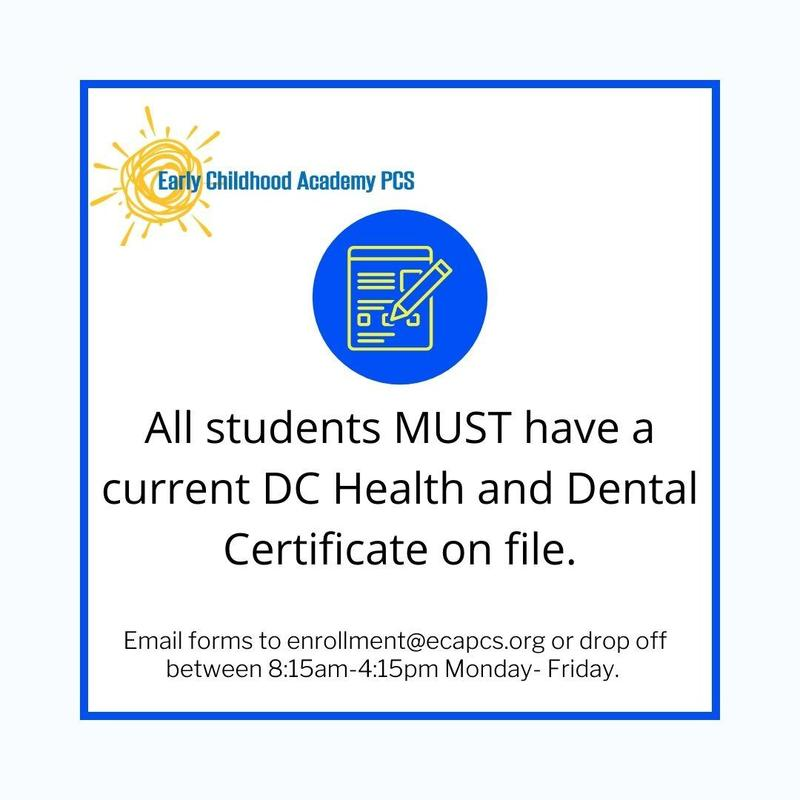 Health and Dental Certificates Are Needed Featured Photo