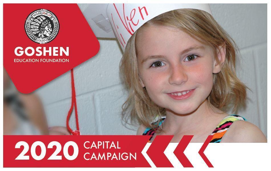 Goshen Education Foundation Campaign Header