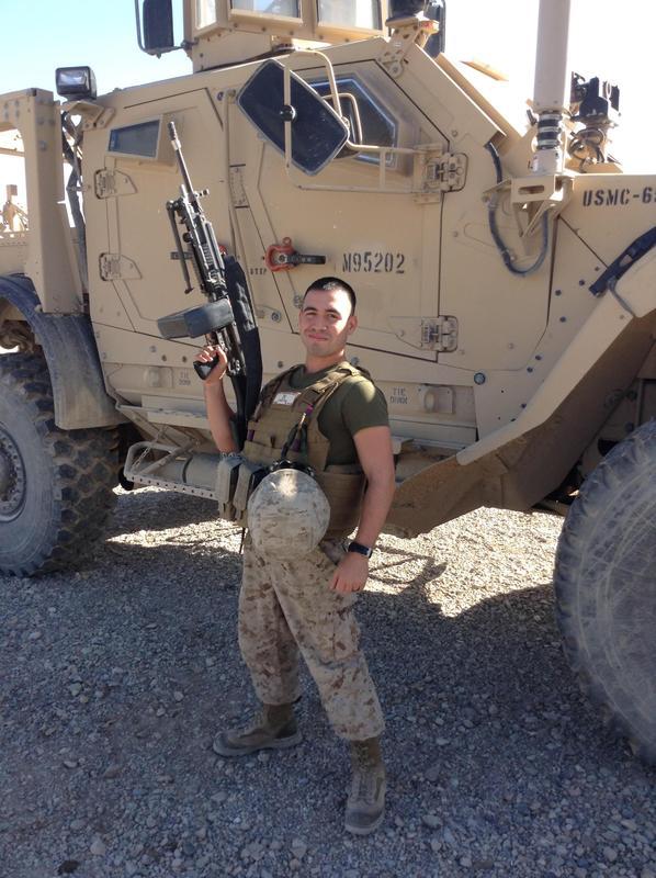 Sergeant Nelson Marrero on duty