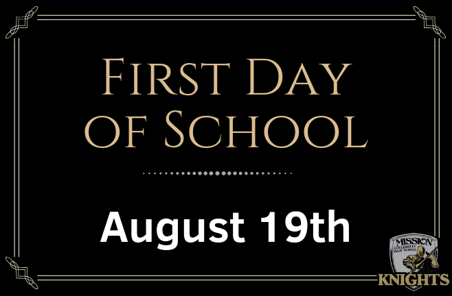 First Day of Instruction for the 2019-2020 School Year is August 19th Featured Photo