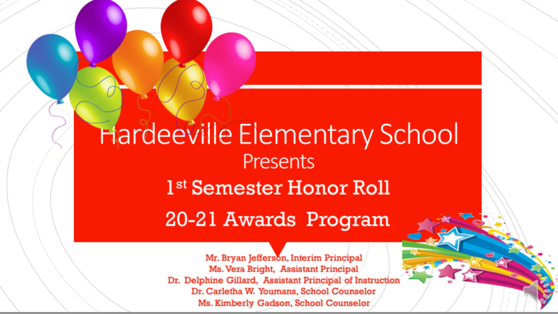 Hardeeville Elementary School First Semester Honor Roll Awards Program Featured Photo