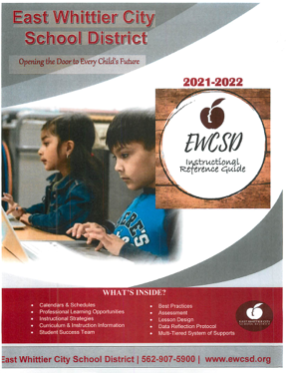 Screenshot of 21-22 Instructional Reference Guide cover