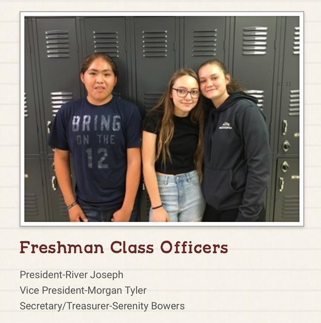 Freshman Class Officers