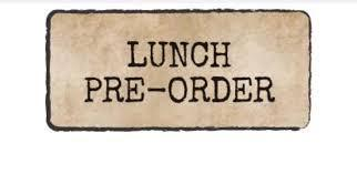 School Lunch Orders Due 4/20 for Week of April 26th! Featured Photo