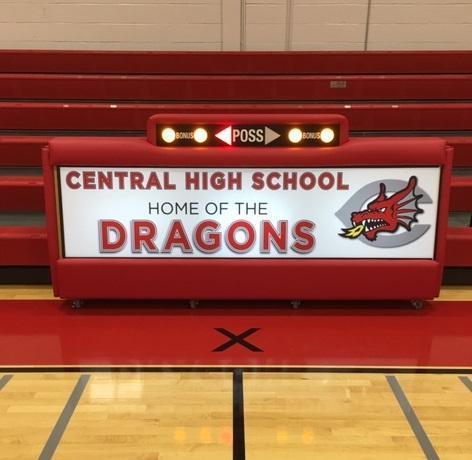 New Scorer's Table