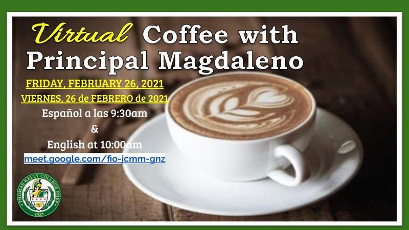Virtual Coffee with the Principal Featured Photo