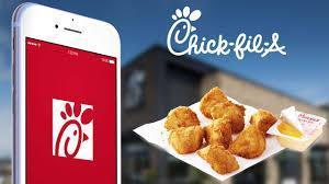 Chick fil a app