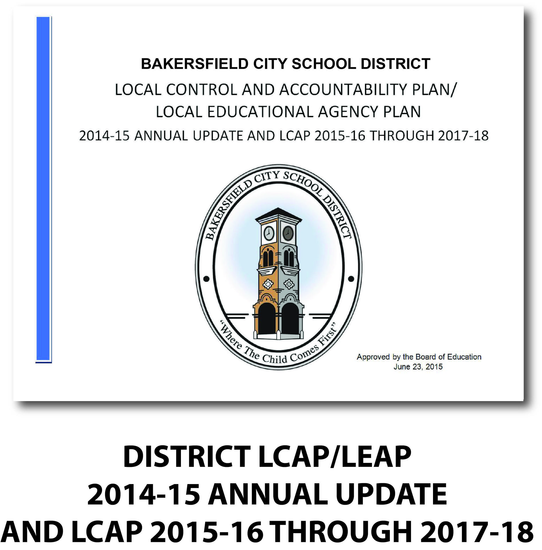 LCAP approved June 23 2015