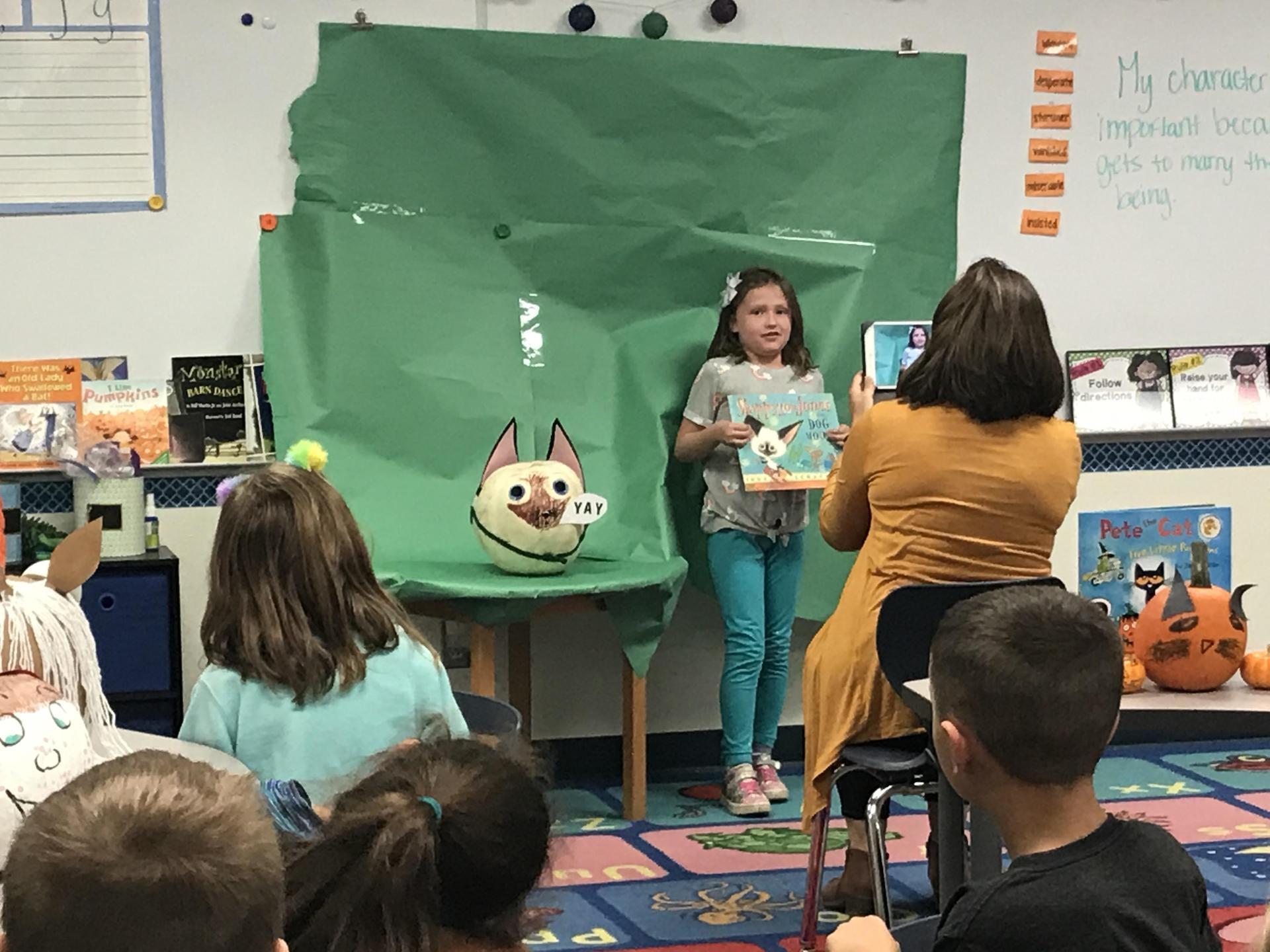 storybook pumpkins