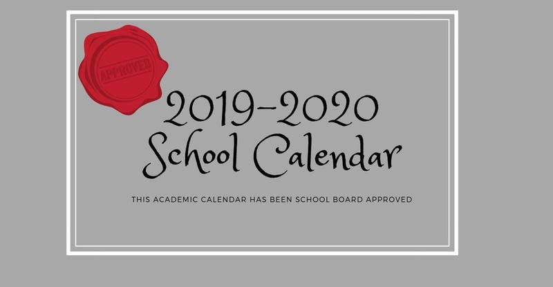 2019-2020 Calendar Approved by Board Thumbnail Image