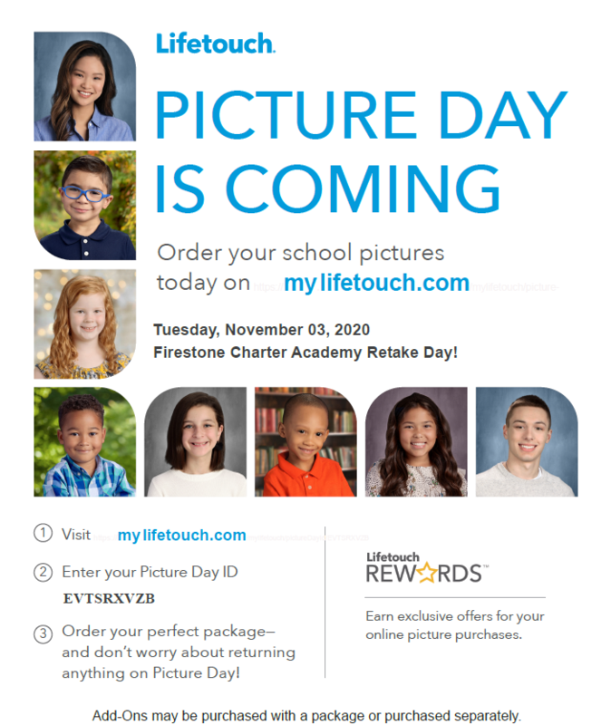 Picture Re-take Day - November 3rd Featured Photo
