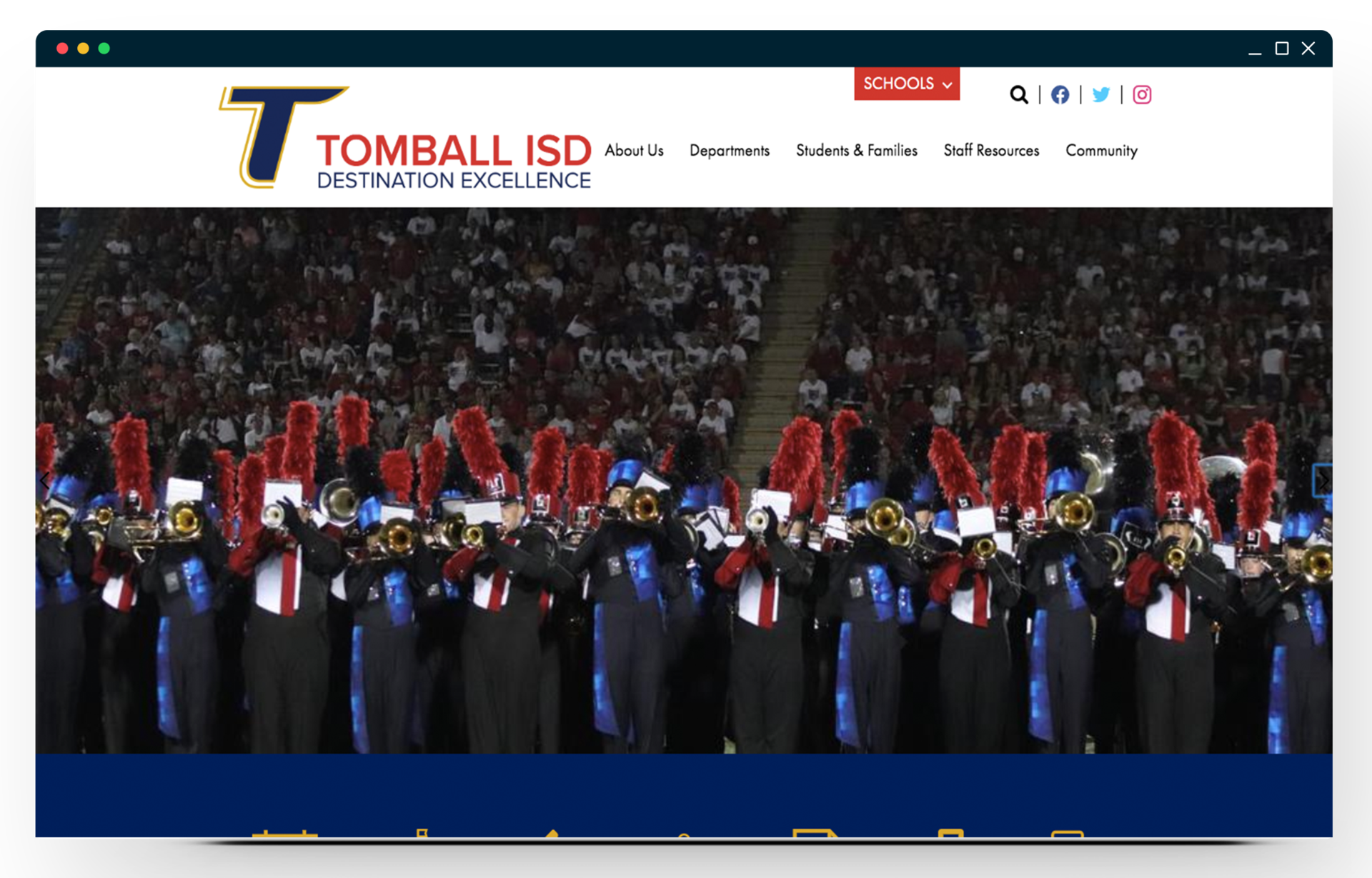 Tomball ISD Homepage