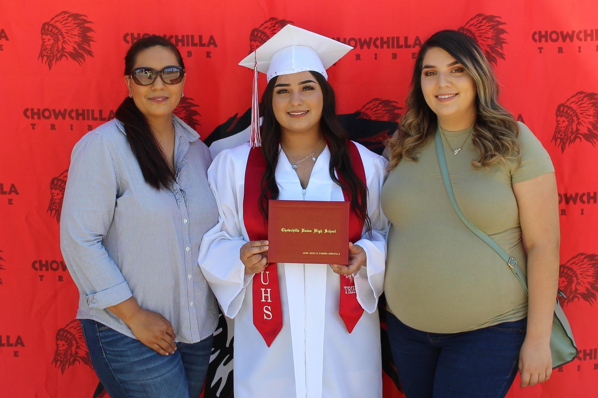 Jamie Zamora and family