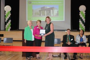 Stacey Gym commendation from City Council of HB