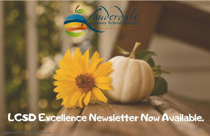 LCSD Newsletter Now Available Graphic