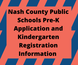 Pre-K Application and Kindergarten Registration