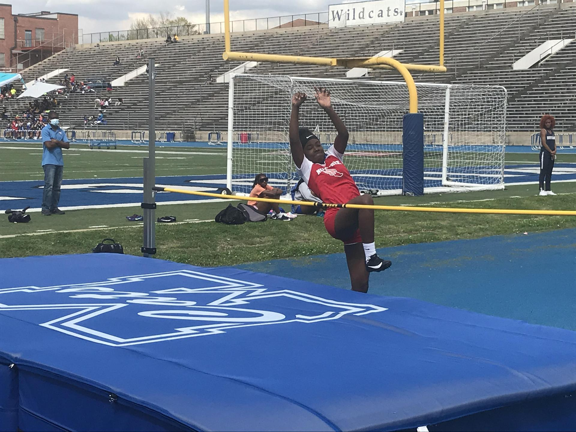 NEHS Girls Track and Field Competition