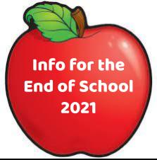 Apple/End of school info