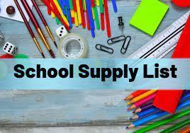 Supply Lists Featured Photo