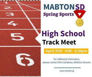 Image, Spring Sports High School Track Meet