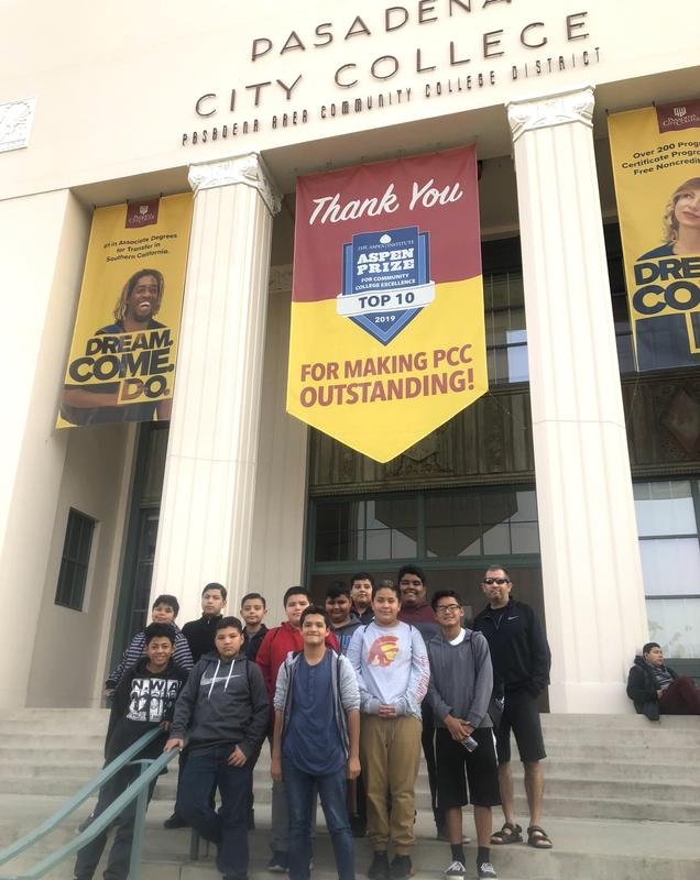 Graves Middle School Students Attend The Adelante Young Men Conference Featured Photo