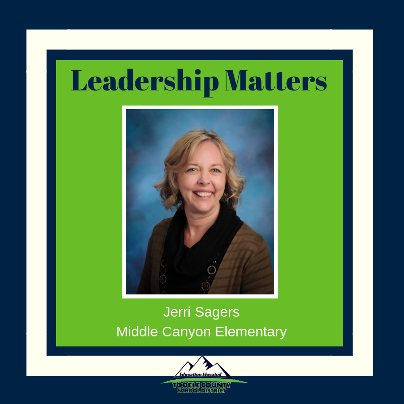 Jerri Sagers - Principal of Middle Canyon Elementary