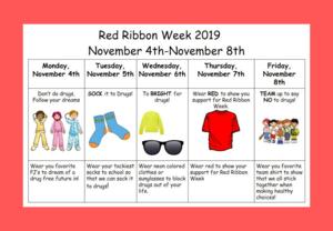Red Ribbon Week Information
