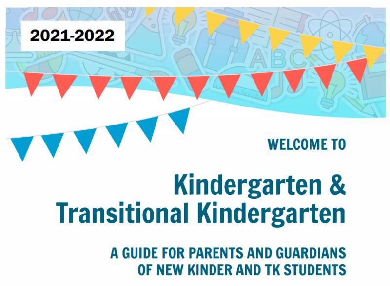 Kindergarten and Transitional Kindergarten Guide 2021-2022 Featured Photo