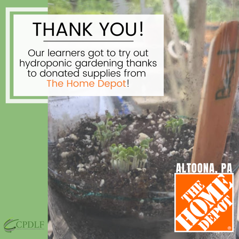 Thank you Altoona Home Depot! Featured Photo
