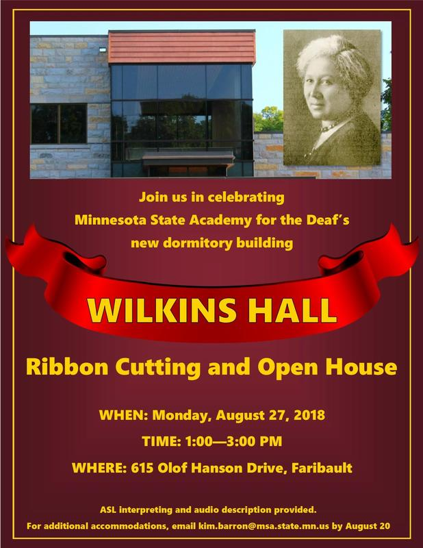 Wilkins Hall Ribbon Cutting and Open House Thumbnail Image