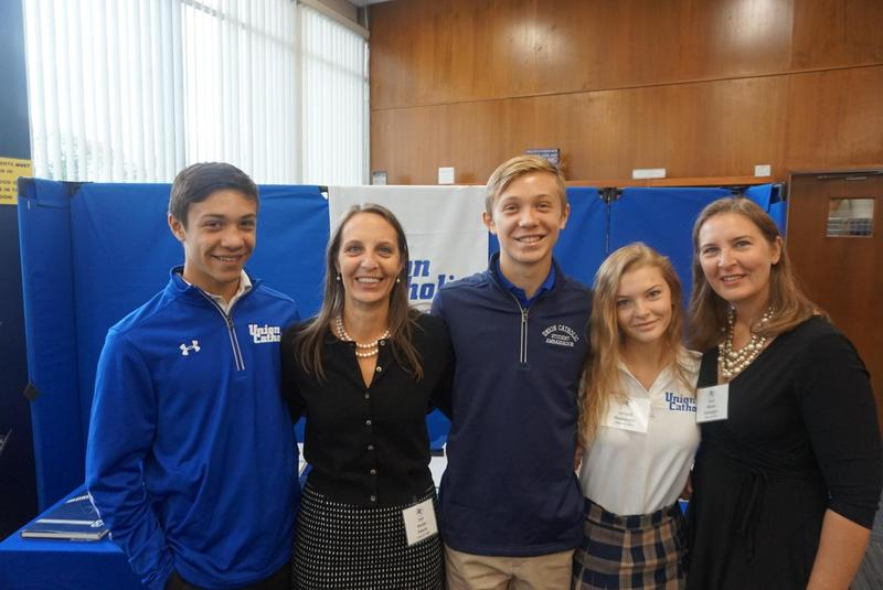 Union Catholic Holds Legacy Breakfast for Alumni Parents and Current UC Children Thumbnail Image