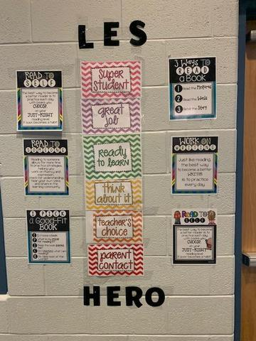 We can all be heroes at LES!