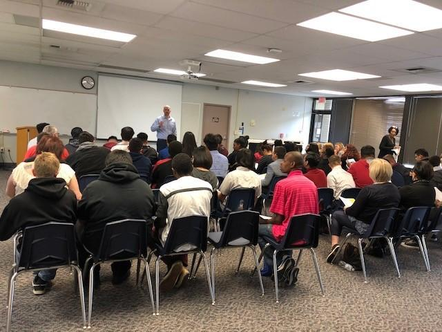 Kern County HIRE Club meeting held at KHSD District Office