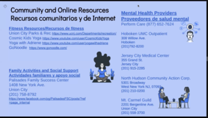 Community and online resources