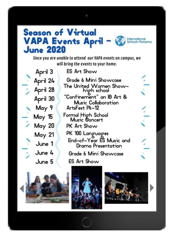 VAPA Season of Virtual Events Featured Photo