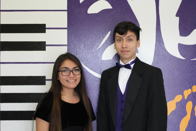 SBHS Choir had two students compete in the Area round of the Texas All-State Vocal Auditions